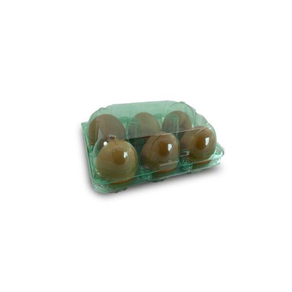 Estuche para huevos verde